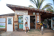 The Surfing Goat Dairy in Maui, Hawaii