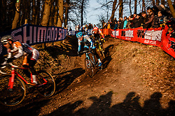 PAUWELS Kevin (BEL) during the Men Elite race, UCI Cyclo-cross World Cup #8 at Hoogerheide, Noord-Brabant, The Netherlands, 22 January 2017. Photo by Pim Nijland / PelotonPhotos.com | All photos usage must carry mandatory copyright credit (Peloton Photos | Pim Nijland)