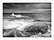A stormy seascape from the rocks at Ben Buckler Point, North Bondi [Bondi, NSW]<br />