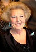 Uitreiking van de Prins Claus Prijs in muziekgebouw aan het IJ //  Presentation of the Prince Claus Award in the Amsterdam Music Hall.<br /> <br /> On the photo: Queen Beatrix