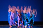 Santa Clara University's Department of Theatre & Dance performs Images 2015 during a dress rehearsal at Santa Clara University's Louis B. Mayer Theatre in Santa Clara, California, on February 4, 2015. (Stan Olszewski/SOSKIphoto)