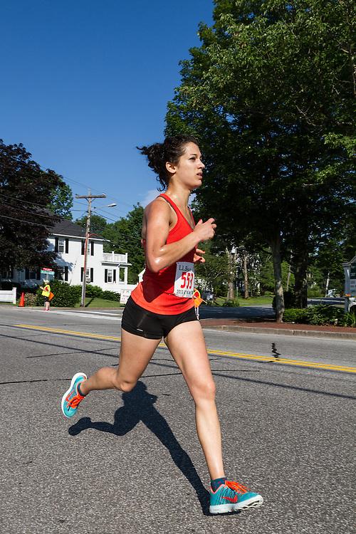LL Bean 10K road race: Amanda Gervasi