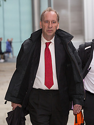© Licensed to London News Pictures. 31/05/2016. LONDON, UK. PATRICK ROCK, a former Special Advisor to the Prime Minister, David Cameron, leaves Southwark Crown Court in London, England. Rock appeared charged with possessing indecent images of children. The jury have retired to consider their verdict. Photo credit: Vickie Flores/LNP