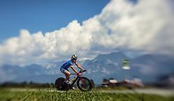 28.08.2016, Zell am See Kaprun, AUT, IRONMAN 70.3 Salzburg, im Bild Marc Unger (GER) mit einem Tilt & Shift Objektiv aufgenommen // Marc Unger (GER) taken with a Tilt & Shift Lens during IRONMAN 70.3, Salzburg at Zell am See- Kaprun, Austria on 2016/08/28. EXPA Pictures © 2016, PhotoCredit: EXPA/ JFK