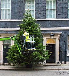 Downing Street, London, December 6th 2015.