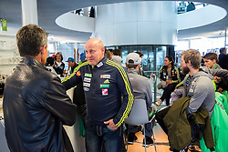 Goran Janus during official presentation of the outfits of the Slovenian Ski Teams before new season 2016/17, on October 18, 2016 in Planica, Slovenia. Photo by Vid Ponikvar / Sportida