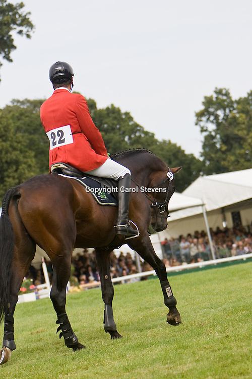 Kai Ruder at Burghley Horse Trials 2009