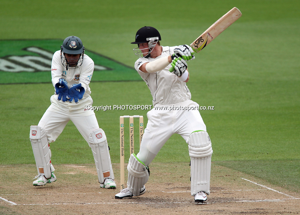 Martin Guptill batting.<br />