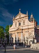 Kościół świętych Apostołów Piotra i Pawła na ulicy Grodzkiej w Krakowie, Polska<br /> The Church of the Holy Apostles Peter and Paul at Grodzka Street in Cracow, Poland