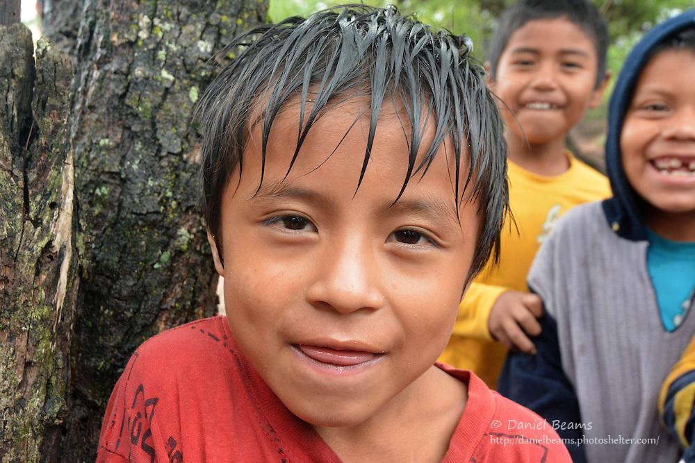 Guarani boys in Isosog