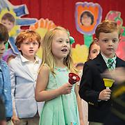 Samantha's Pre-K Graduation at The Cluny School, Newport, Rhode Island, USA, June 10, 2015.  Photo: Tripp Burman