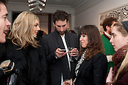 KIM HERSOV;  IDRIS KHAN; ANNIE MORRIS; DAISY DE VILLENEUVE;, There is a Land Called Loss | Annie Morris | Pertwee Andersen and Gold, in association with Adam Waymouth Art , Private View, 15 bateman st. W1 2nd February 2012