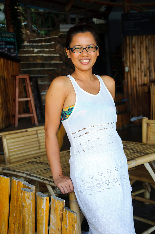Bovy, a guesthouse owner and manager at Haad Khom on Ko Phangan, Thailand
