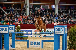 TEBBEL Justine (GER), FLIGHT OF IKARUS<br /> Neustadt-Dosse - 20. CSI Neustadt-Dosse 2020<br /> Preis der Deutschen Kreditbank AG<br /> Championat - Large Tour<br /> Int. Springprüfung mit 2 Umläufen<br /> 11.Januar 2020<br /> © www.sportfotos-lafrentz.de/Stefan Lafrentz