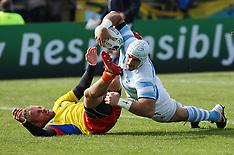 Invercargill-Rugby, RWC, Argentina v Romania