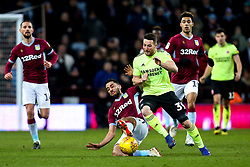 Dominic Revan of Aston Villa takes on Neil Taylor of Aston Villa - Mandatory by-line: Robbie Stephenson/JMP - 08/02/2019 - FOOTBALL - Villa Park - Birmingham, England - Aston Villa v Sheffield United - Sky Bet Championship