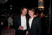 MARCO PIERRE WHITE; LUCIANO PIERRE WHITE, , launch of Fabulous Haircare Range, Frankie's Italian Bar and Grill, 3 Yeomans Row, off Brompton Road, London SW3, 7pm