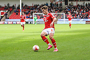 Walsall's Tom Bradshaw during the Sky Bet League 1 match between Walsall and Bury at the Banks's Stadium, Walsall, England on 5 September 2015. Photo by Shane Healey.