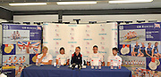 Caversham, Great Britain, Top table, left to right, Andy TRIGGS-HODGE, Kath GRAINGER, David TANNER, Peter REED and Zac PURCHASE, GB Rowing Media Day at the Redgrave Pinsent Rowing Lake. GB Rowing Training Centre. WED 29.04.2009  [Mandatory Credit. Peter Spurrier/Intersport Images]