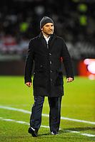 Pascal DUPRAZ  - 04.03.2015 - Evian Thonon / Lorient - Match en retard de la 26eme journee de Ligue 1 <br />Photo : Jean Paul Thomas / Icon Sport