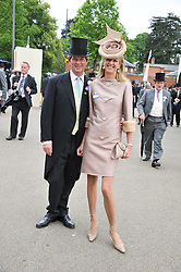 GUY & FIONA SANGSTER at day 2 of the 2011 Royal Ascot Racing festival at Ascot Racecourse, Ascot, Berkshire on 15th June 2011.