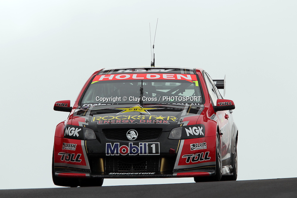 James Courtney and Cameron McConville (Holden Racing Team). 2011 Supercheap Auto Bathurst 1000 ~ Race 20 of the 2011 V8 Supercar Championship Series. Mount Panorama, Bathurst NSW on Friday 7 October 2011. Photo © Clay Cross / photosport.co.nz