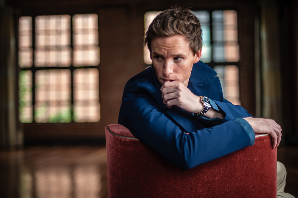 Eddie Redmayne, star of The Theory of Everything, a biopic about Stephen Hawking