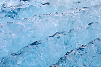 Dawes Glacier iceberg pattern detail in Endicott Arm in Tracy Arm-Fords Terror Wilderness in Southeast Alaska.