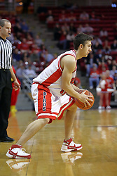 06 December 2008: Sead Odzic during a game where the  Illinois State University Redbirds extended their record to 9-0 with a 76-70 win over the Eagles of Morehead State on Doug Collins Court inside Redbird Arena on the campus of Illinois State University in Normal Illinois