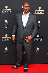 February 2, 2019 - Atlanta, GA, U.S. - ATLANTA, GA - FEBRUARY 02:  Charles Haley    poses for photos on the red carpet at the NFL Honors on February 2, 2019 at the Fox Theatre in Atlanta, GA. (Photo by Rich Graessle/Icon Sportswire) (Credit Image: © Rich Graessle/Icon SMI via ZUMA Press)