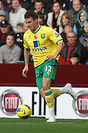 Picture by Paul Chesterton/Focus Images Ltd.  07904 640267.5/11/11.Anthony Pilkington of Norwich in action during the Barclays Premier League match at Villa Park stadium, Birmingham.