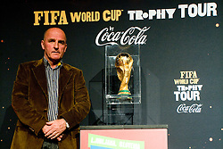 Best Slovenian all time football player Brane Oblak at VIP reception of FIFA World Cup Trophy Tour by Coca-Cola, on March 29, 2010, in BTC City, Ljubljana, Slovenia.  (Photo by Vid Ponikvar / Sportida)