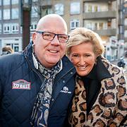 NLD/Amsterdam/20171214 - Presentatie cd Wesly Bronkhorst, Gaston Starreveld en partner Marisa Smid