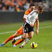 NLD/Amsterdam/20121114 - Vriendschappelijk duel Nederland - Duitsland, Stefan de Vrij in duel met Phillip Lahm