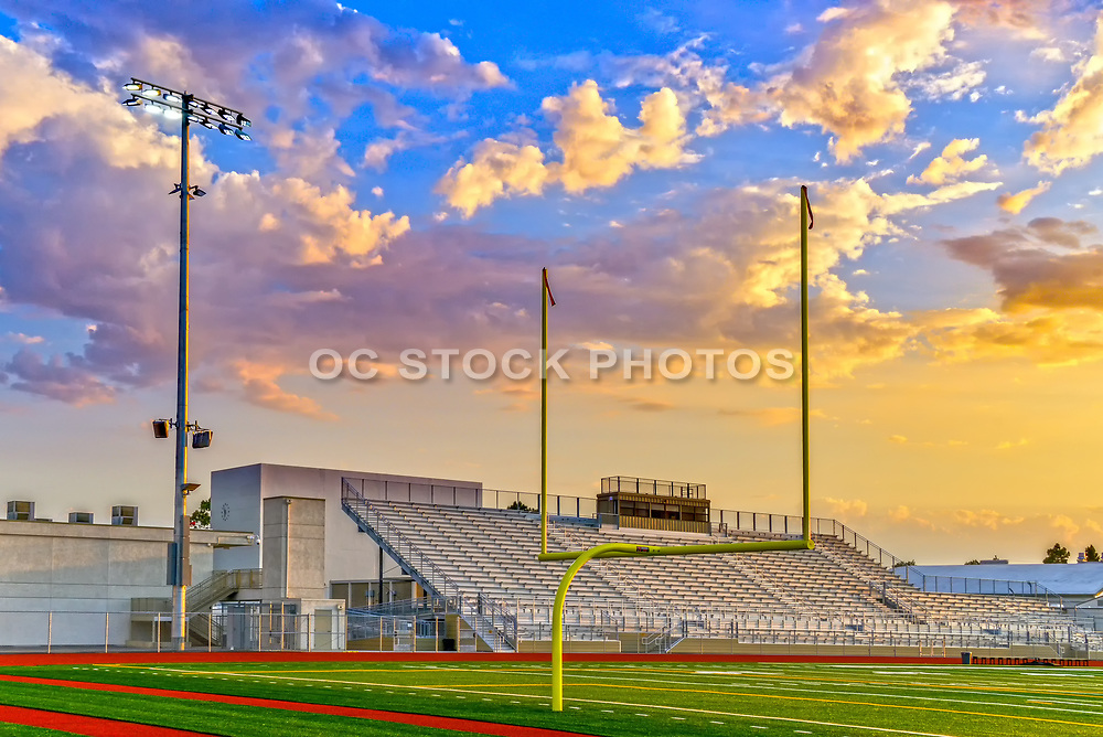 Home Side Stadium Seating at Garden Grove High School