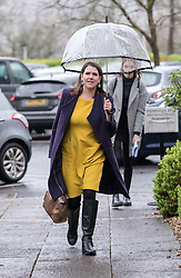 © Licensed to London News Pictures. 10/12/2019. Bath, Bath and North East Somerset, UK. General Election 2019; JO SWINSON, leader of the Liberal Democrats Party, attends a rally with Liberal Democrat activists in Bath at the Bailbrook House Hotel, followed by national canvassing in the constituency. She will discuss the findings that Brexit is costing the British public £350 million a week, money that could be invested in the NHS. The Bath MP before the election was called was the Lib Dems Wera Hobhouse. Photo credit: Simon Chapman/LNP.