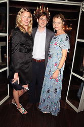 Left to right, JODIE KIDD, THOMAS GEORGE and the COUNTESS OF MORNINGTON at a party hosted by the Supper Club in honour of Mary Greenwell held at Beach Blanket Babylon, Ledbury Road, London on 25th June 2008.<br /><br />NON EXCLUSIVE - WORLD RIGHTS