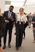 AHMED IBRAHEEM; ISABEL KOENIG, Frieze 2016, Regent's Park. London,