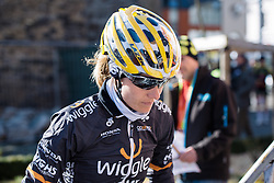 Swedish National Champion, Emma Johansson - Le Samyn des Dames 2016, a 113km road race from Quaregnon to Dour, on March 2, 2016 in Hainaut, Belgium.