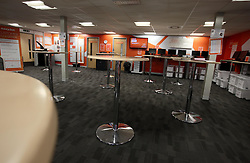 UK ENGLAND LUTON 12FEB14 - General view of the air crew lounge at Easyjet company's headquarters in Luton, England.<br />