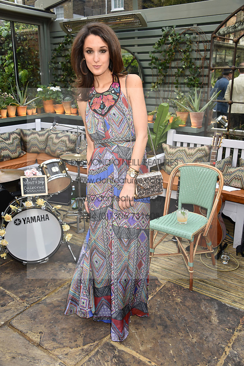 Rosanna Falconer at The Ivy Chelsea Garden's Annual Summer Garden Party, The Ivy Chelsea Garden, 197 King's Road, London England. 9 May 2017.<br /> Photo by Dominic O'Neill/SilverHub 0203 174 1069 sales@silverhubmedia.com