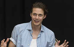 August 27, 2017 - Los Angeles, USA - Bill SkarsgÃ¥rd, who plays the clown Pennywise in the movie ''IT'' at the Beverly Hilton Hotel in Beverly Hills, CA.  (Credit Image: © Sundholm Magnus/Aftonbladet/IBL via ZUMA Wire)