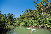 Surfing and meeting the great paddling community of Puerto Rico.