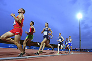 Jimmy Gressier (FRA) competes on Men's 5000 m final during the Jeux Mediterraneens 2018, in Tarragona, Spain, Day 6, on June 27, 2018 - Photo Stephane Kempinaire / KMSP / ProSportsImages / DPPI