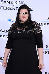 """Ann Mahoney at the Paramount Pictures And Pure Flix Entertainment's """"Same Kind Of Different As Me"""" Premiere held at the Westwood Village Theatre on October 12, 2017 in Westwood, California, USA (Photo by Art Garcia/Sipa USA)"""