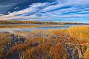 Autumn Lake of the Woods<br />Rainy River<br />Ontario<br />Canada