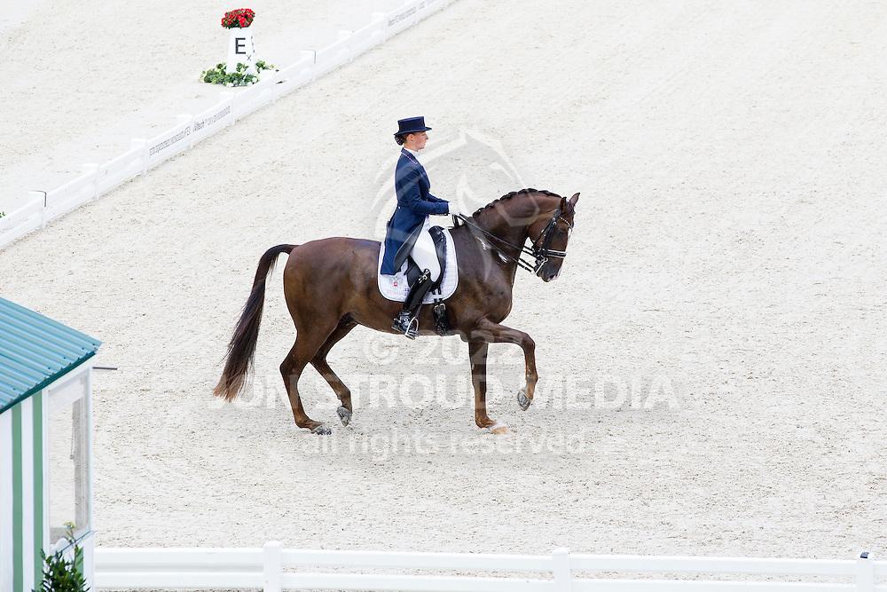 Marina Aframeeva, (RUS), Vosk - Grand Prix Team Competition Dressage - Alltech FEI World Equestrian Games&trade; 2014 - Normandy, France.<br /> &copy; Hippo Foto Team - Leanjo de Koster<br /> 25/06/14