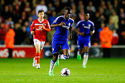 Ramires of Chelsea in action - Mandatory byline: Rogan Thomson/JMP - 07966 386802 - 23/09/2015 - FOOTBALL - Bescot Stadium - Walsall, England - Walsall v Chelsea - Capital One Cup.
