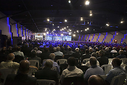 August 19, 2017 - Tirana, Albania - Conference on the anniversary of the massacre of 30,000 political prisoners in Iran on 1988 was held in Tirana, Albania on Saturday August ,19 2017.  Maryam Rajavi, the President elect of the National council of the Resistance of Iran(NCRI) described it as crime against humanity and called on UN for a Commission of Inquiry about the massacre. Many members of the People's Mojahedin of Iran(PMOI/MEK) in Albania also participated in this conference. (Credit Image: © Siavosh Hosseini/NurPhoto via ZUMA Press)