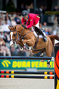 Kent Farrington - Creedance<br /> Longines Grand Prix Port of Rotterdam<br /> CHIO Rotterdam 2016<br /> © DigiShots
